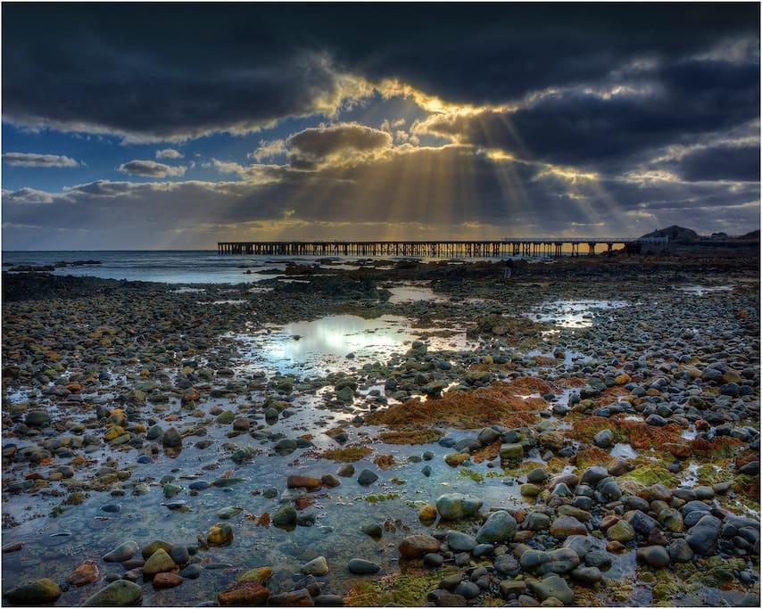 Amazing coastal views