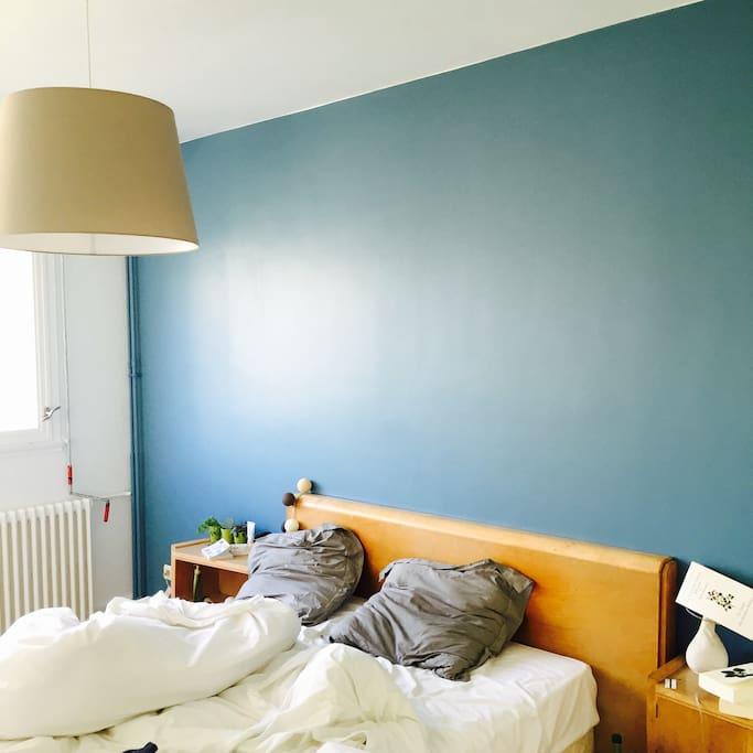 Chambre principale - king bed