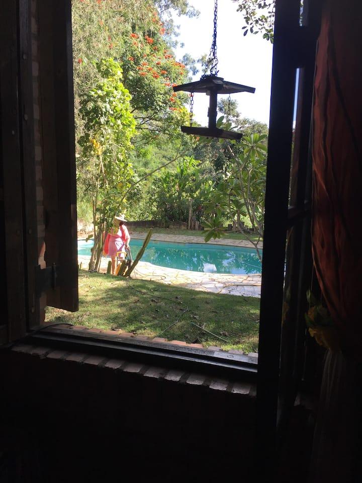 Casa de campo, ambiente relaxante!