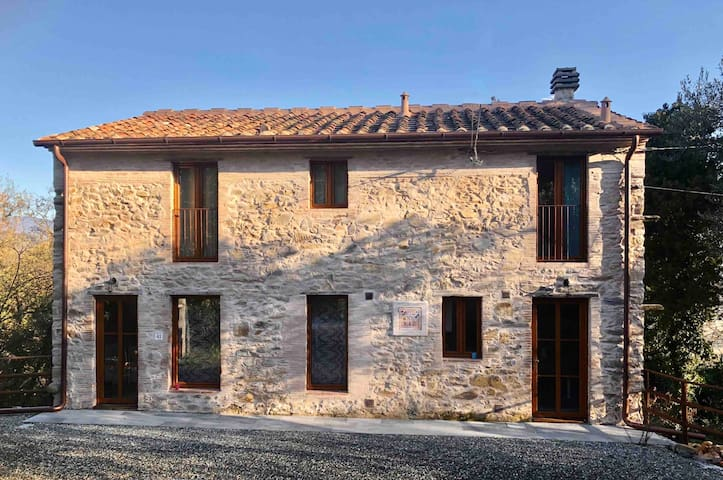 2 bedrooms cottage in Lucca countryside
