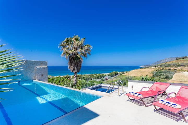Seaview Villas Crete Villa Avra