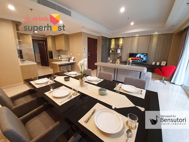 Prestigious Apartment at Pondok Indah by Bensutori