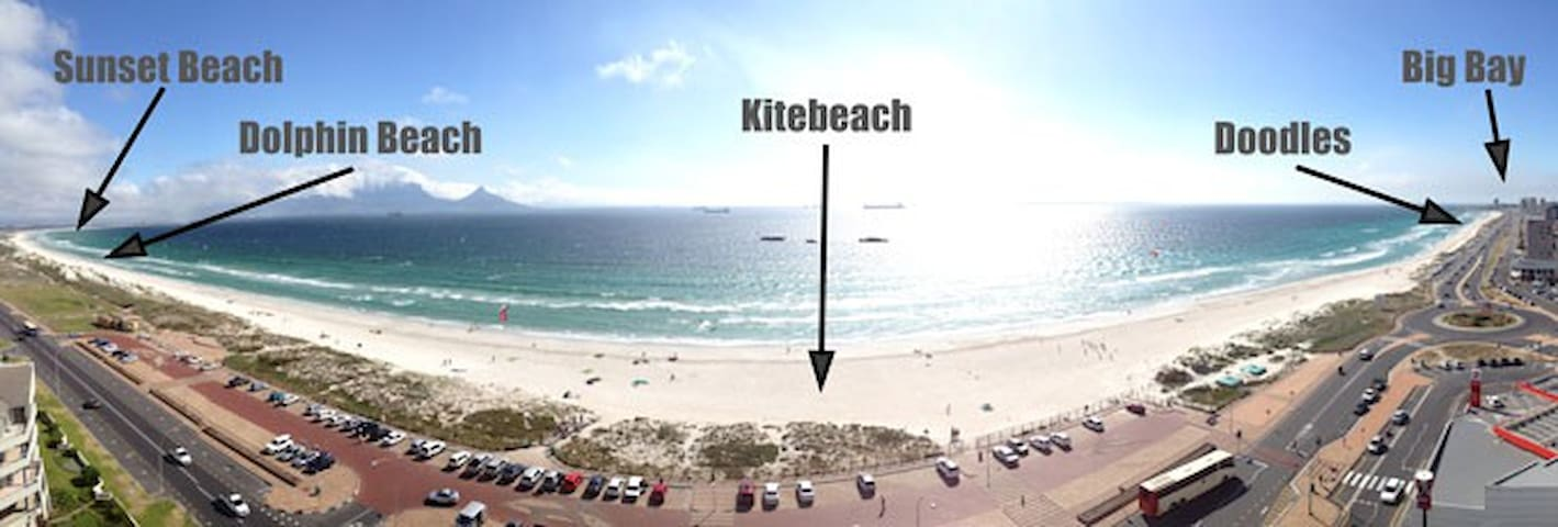 Self catering Kite beach flatlet - Cidade do Cabo - Apartamento