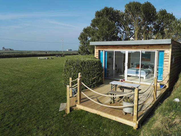 Cosy Cabin by the Sea near Tintagel & Coastpath - Tintagel - Cabana