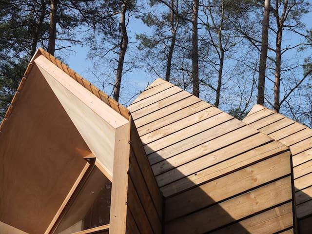 Uniek Tiny house midden in de natuur - Ermelo - 自然小屋