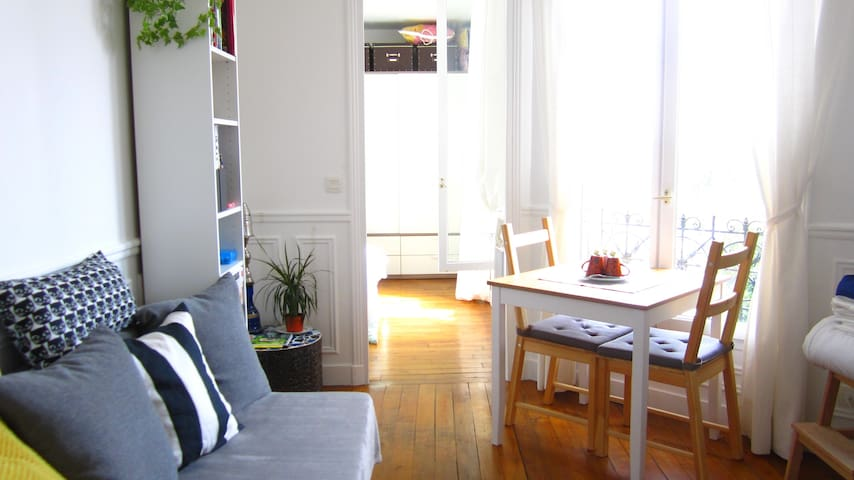 Cosy and bright apartment, located 7min from Paris - Alfortville - Wohnung