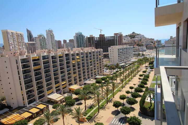 Gran apartamento situado en la playa La Cala