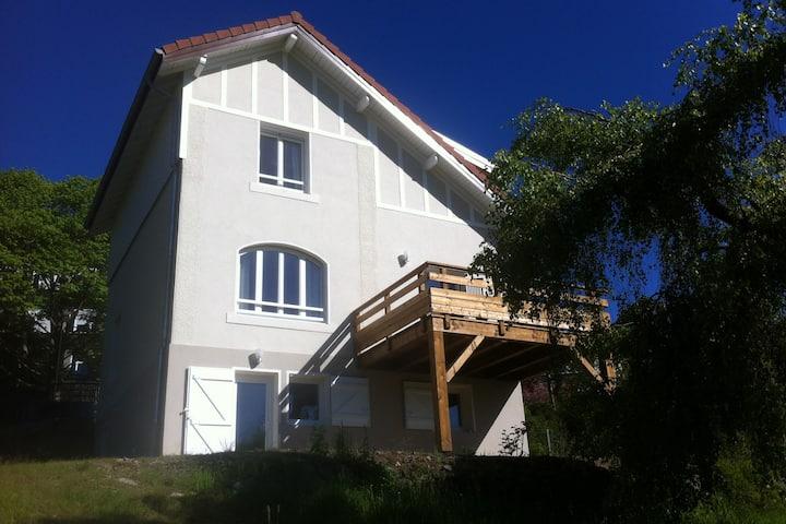 Villa  5 Étoiles 4 Clévacances pour 10 personnes