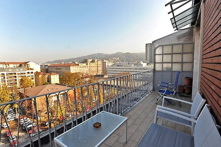 Apartment with views in Lingotto district
