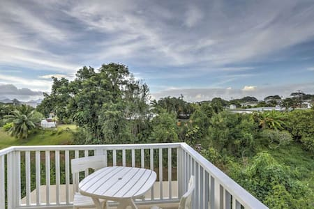 Quite Kaneohe Studio with Stunning Views