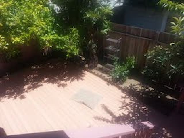 spacious pet friendly in law unit with backyard