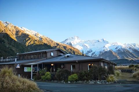 Habitación doble (baño compartido) - YHA Mt Cook