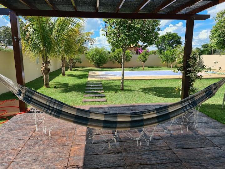 Conforto no Santa Bárbara Resort Residence