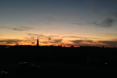 Poggio D'Oro, incredible Tuscany sunset view - Capannoli - Talo
