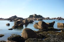 la côte de granit