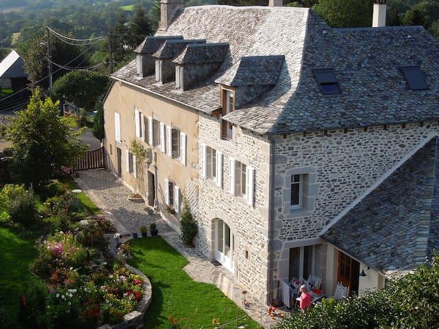 La Caminade, chambre Alisier - Montpeyroux