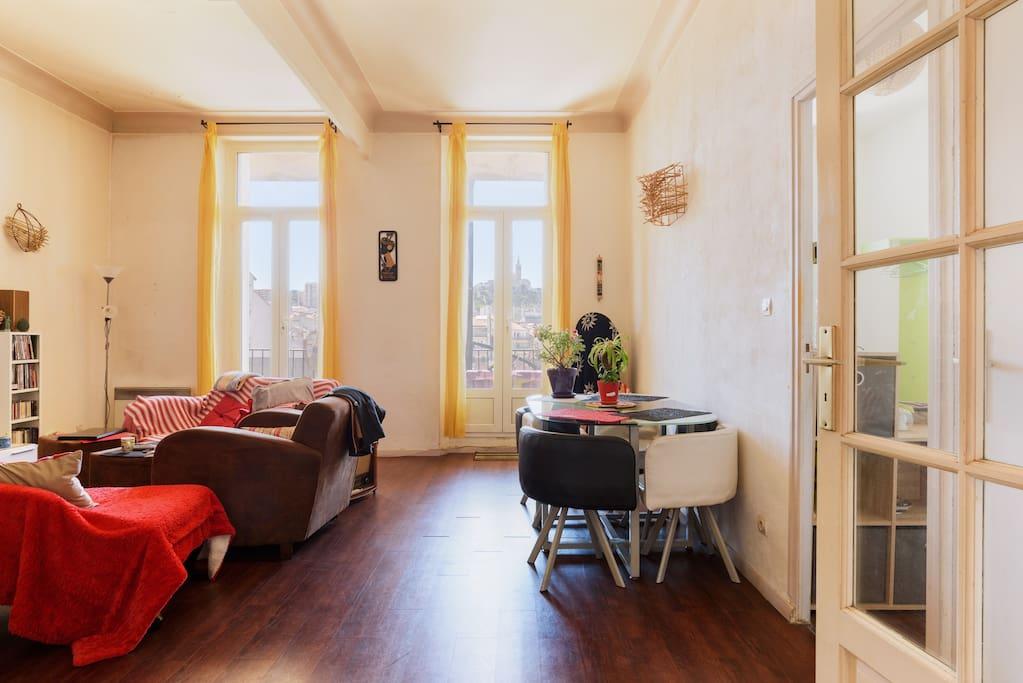 Chambre louer chez l 39 habitant marseille provence - Chambre a louer chez l habitant paris ...