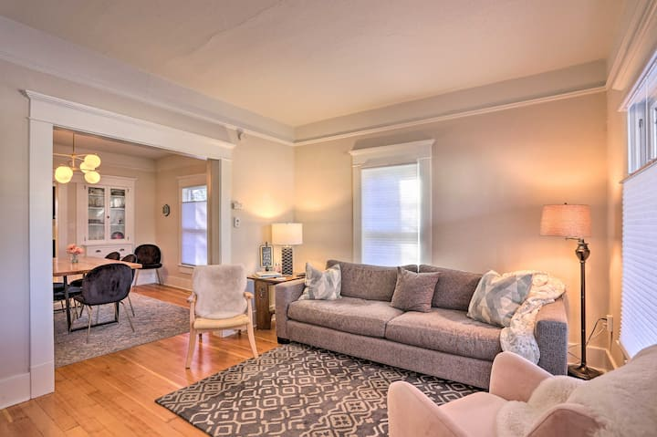 Vintage-Chic Home with Patio - Walk to Hyde Park!