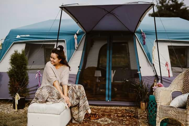 Glamping+FarmStay Campsite