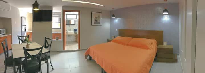 Suite Lisboa / aire acondicionado, cocina centro