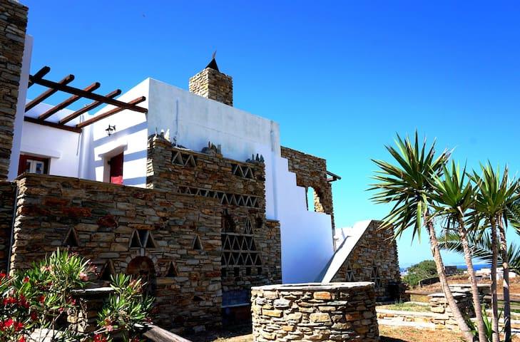 Sea view Cycladic house
