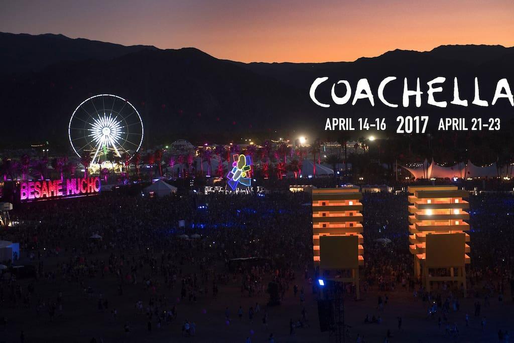 COACHELLA 2017 (APRIL 14-16) (APRIL 21-23)