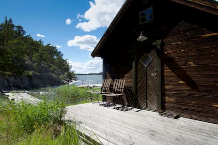 Hus i skärgården - Fiskarestugan