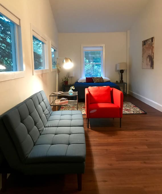 Cozy Modern In Sought After West Asheville Guest Suites For Rent In Asheville North