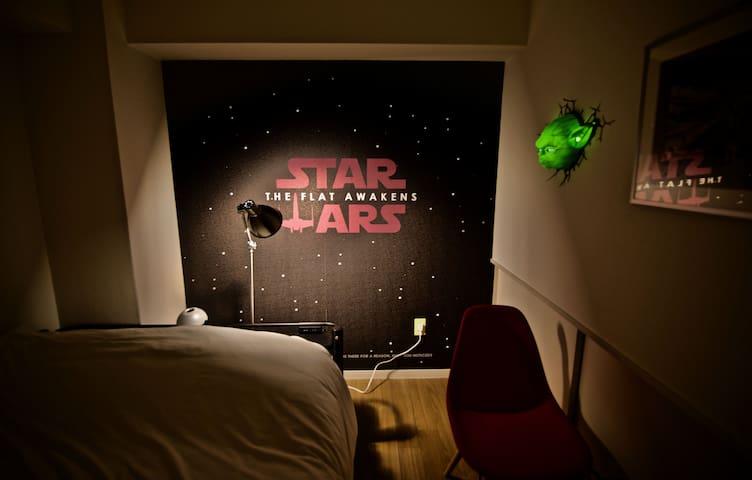 STAR WARS HOUSE!Sta 5min!Roppongi/Wifi,Max8/ES130