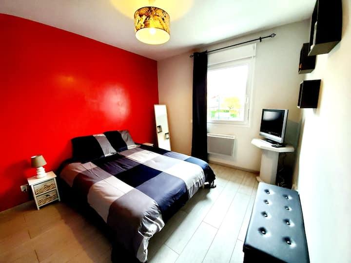 chambre dans charmante maison