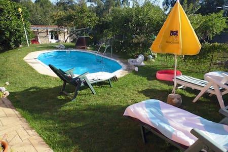Habitación en casa: cocina, baño, piscina y jardín - Vigo - บ้าน