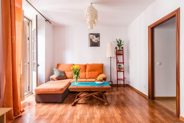 Vivienda en el Soho auténtico de Málaga.