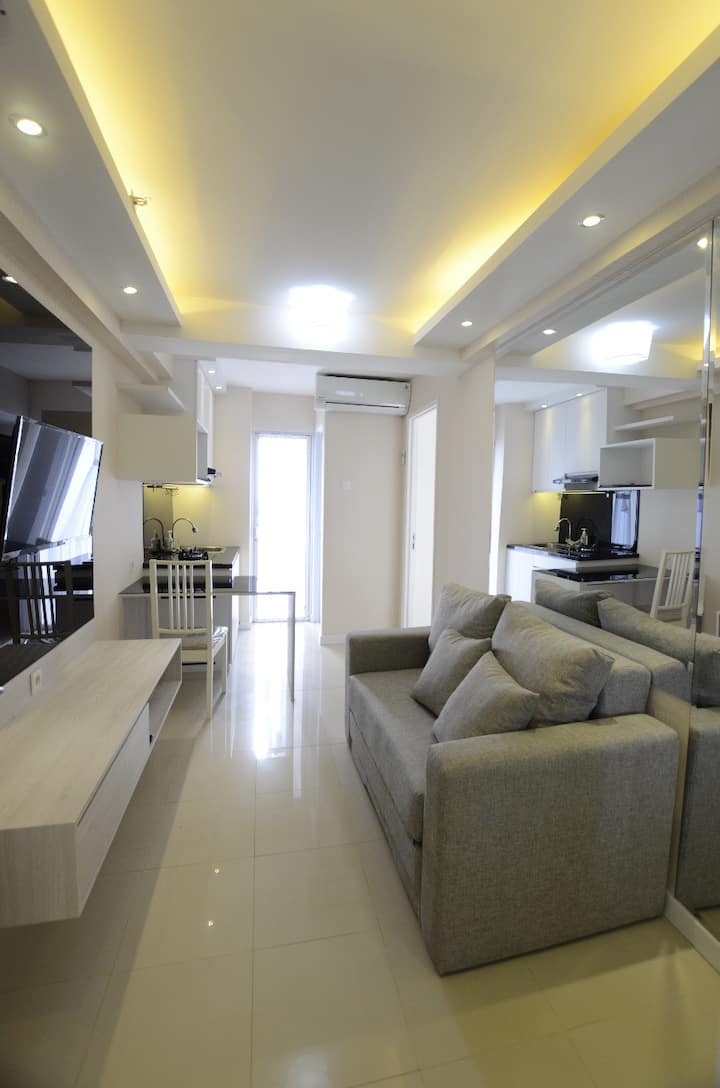 1BR minimalist apartement with City View + WIFI