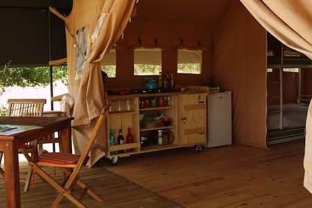 Luxe safaritent - Dun-le-Palestel - Telt