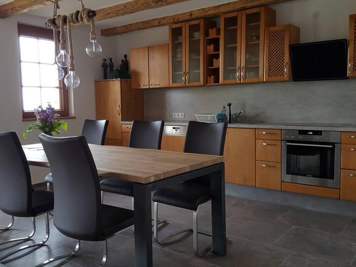 Fischerhof, (Höchenschwand), Ferienwohnung mit 122qm, barrierefrei, 3 Schlafzimmer, max. 6 Personen