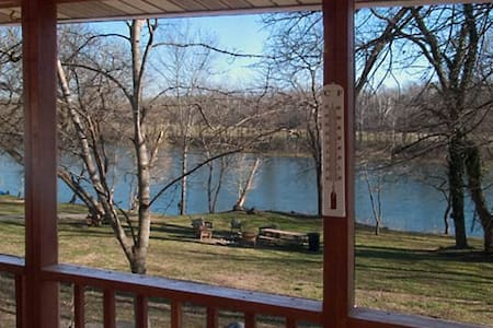 Relaxing, Riverfront Cabin w/ Screened Porch, #3