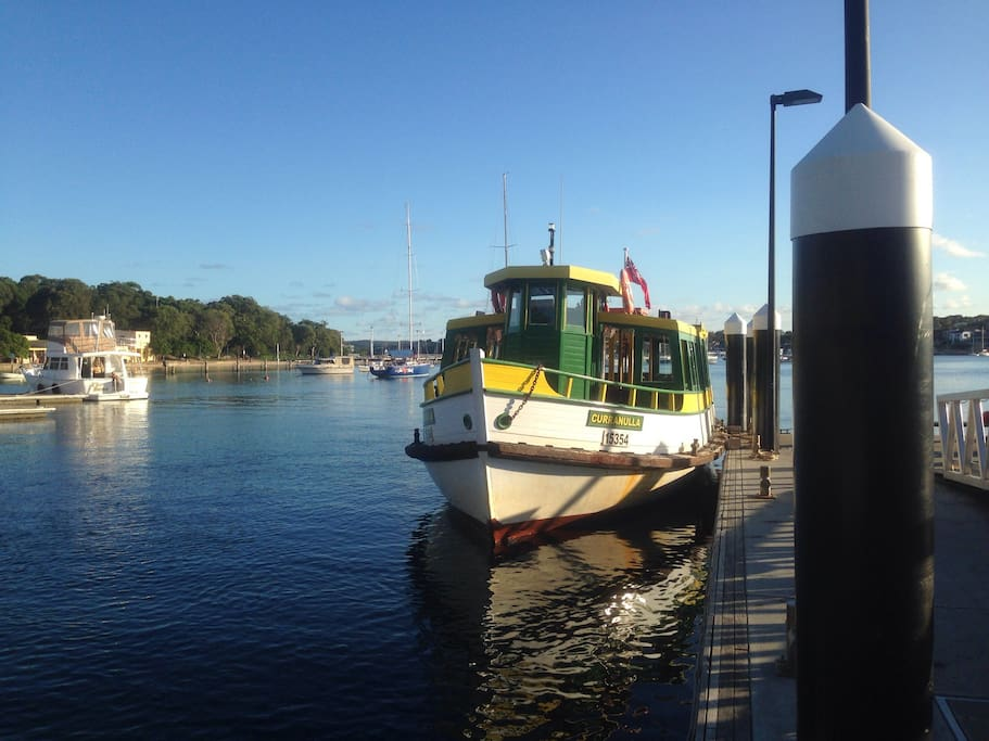 Ferry to Bundeena and Royal National Park at Cronulla,2 kms from my place