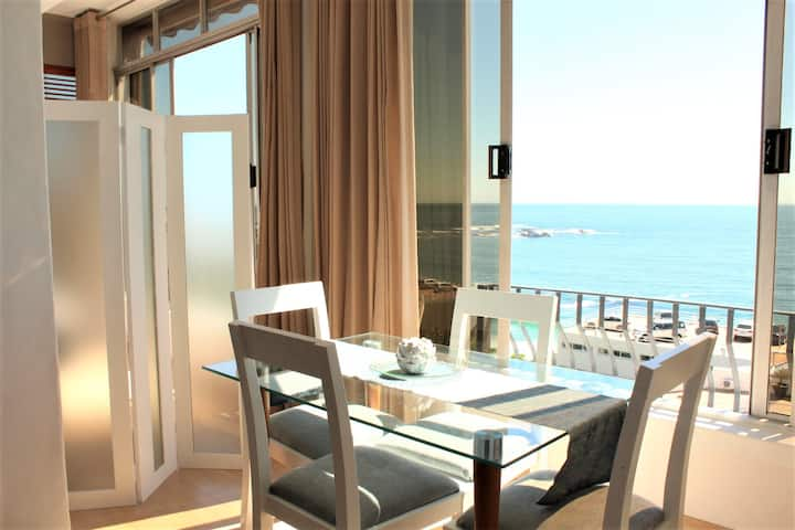 Simple beach living in unsurpassed Clifton