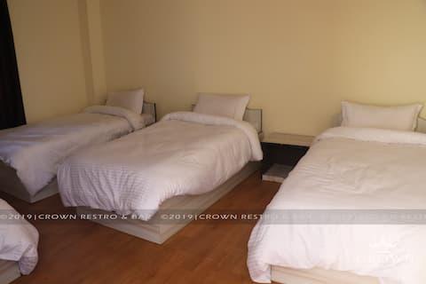 Crown Restro and Lodge, Baruwagaun, Tulsipur