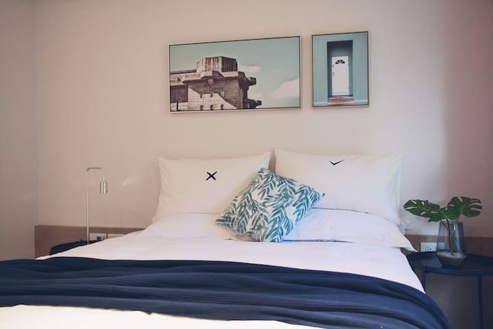 【提諾公寓Tino's Apartments】雙人房A/ 免費車位/15%早鳥優惠/10%晚鳥優惠