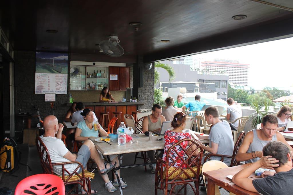 Terrace Restaurant with Bar