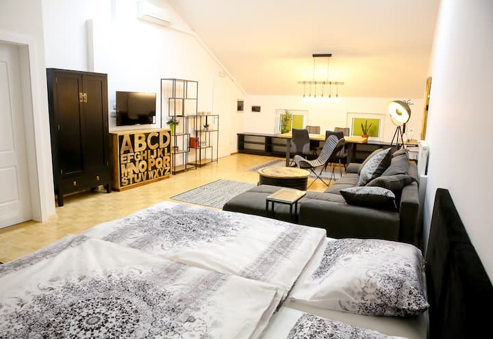 Lovely studio with free parking  in Trzin