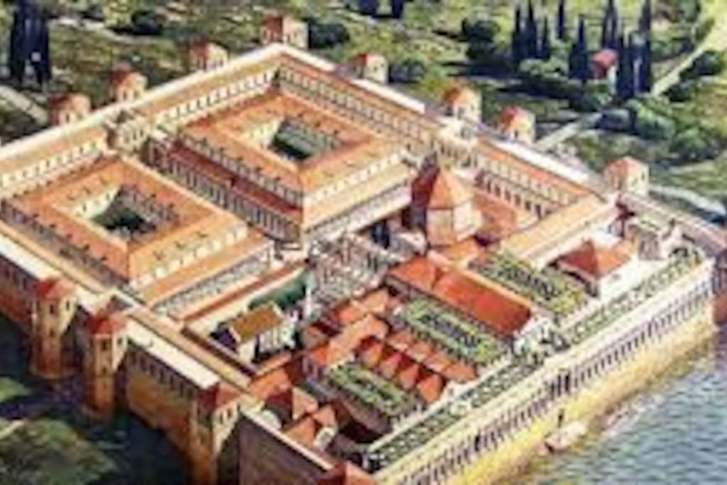 diocletian`s Palace as it looks 1700 years ago