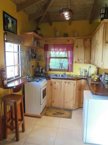 Chalet interior - kitchen