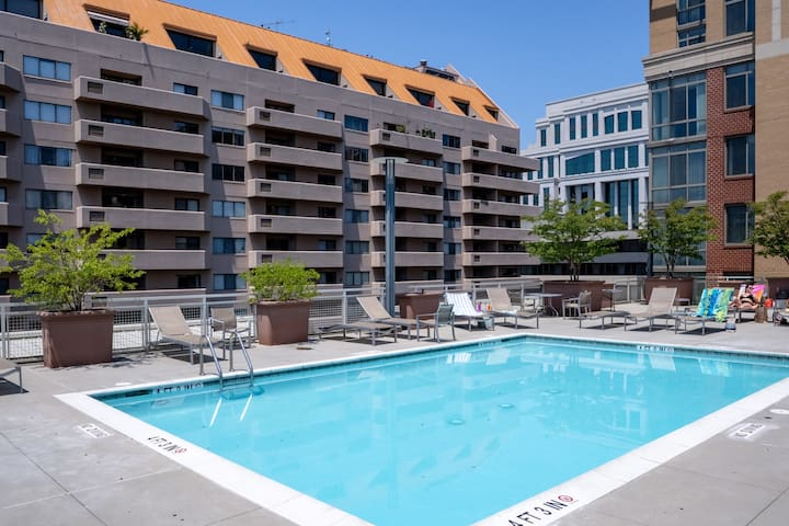 Beautiful 1BR in Arlington, Parking + Pet-Friendly