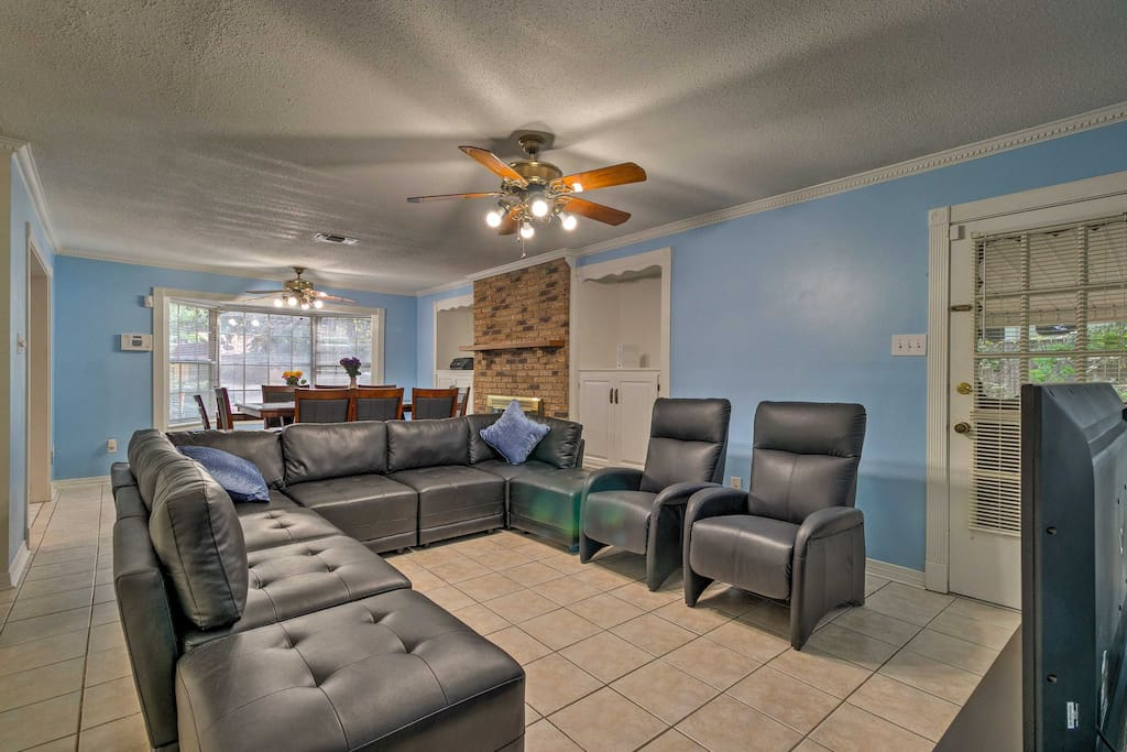Inside, you'll find 4 bedrooms, 2 bathrooms, and all of the comforts of home.