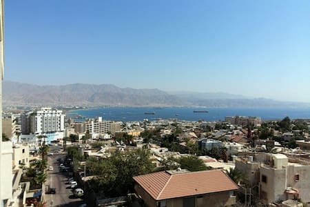 The best view! apartment - Eilat - Lakás