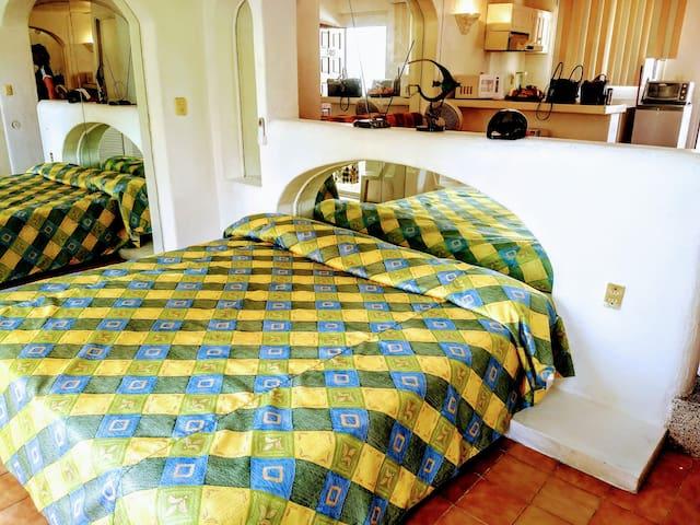 Cama o habitación del loft