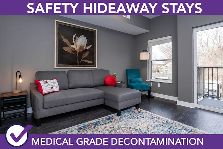 Safety Hideaway - Medical Grade Clean Home 62