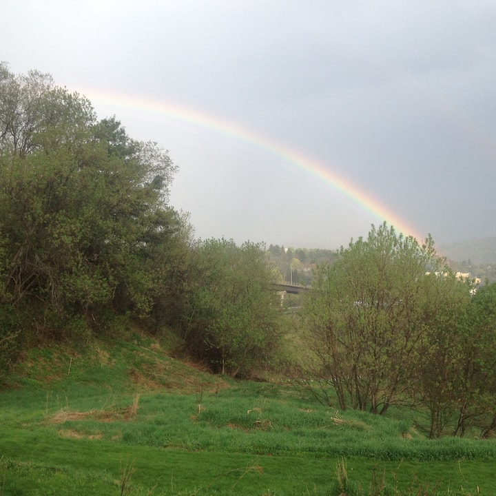 Under the rainbow tenting - you supply the tent